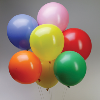 Latex Balloons 20 Quot Multi Color