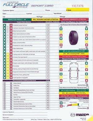 ontario vehicle safety inspection checklist pdf